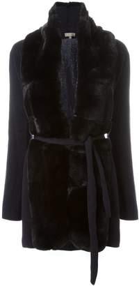 N.Peal 'Milano' fur placket jacket