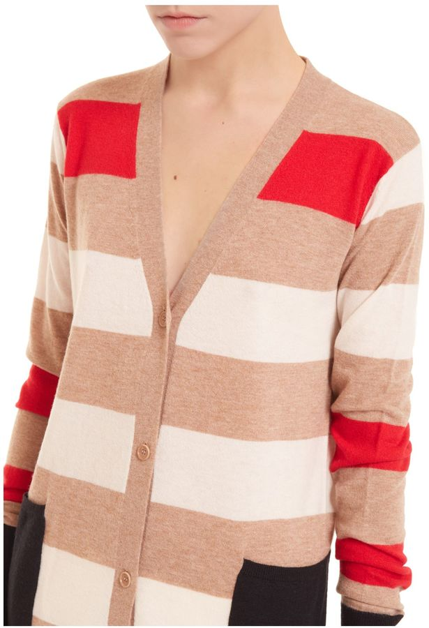 Max Mara Max Mara Striped Mid Cardigan