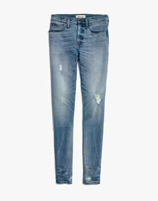 "Madewell 9"" High-Rise Skinny Jeans: Destructed-Hem Edition"
