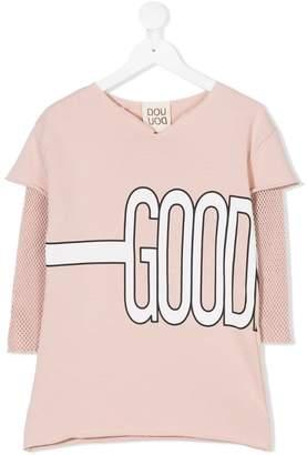 Douuod Kids good print sweat dress