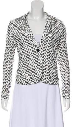 Tory Burch Long Sleeve Structured Blazer
