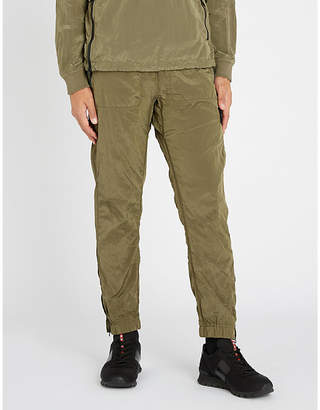 Stone Island Relaxed-fit skinny shell jogging bottoms