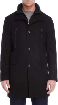 Michael Kors Black Bib Coat
