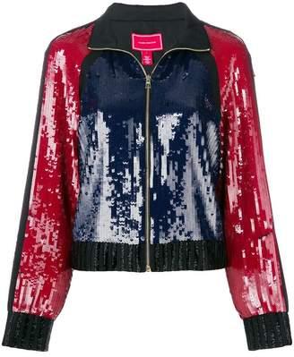 Tommy Hilfiger sequins track jacket
