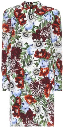 Erdem Mirela floral-printed silk dress