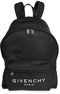 Givenchy Men's Classic Zippered Backpack
