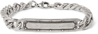Foundwell 1990s Burnished-Silver Id Bracelet