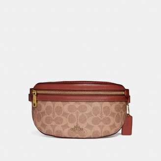 359b63e78be7 Coach Belt Bag In Signature Canvas