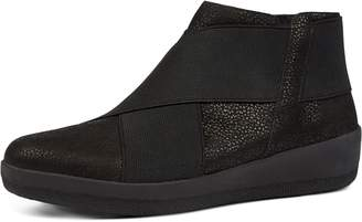 FitFlop Superflex Tumbled Leather Ankle Boots