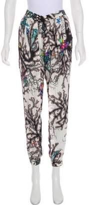 Just Cavalli Mid-Rise Skinny Lounge Pants