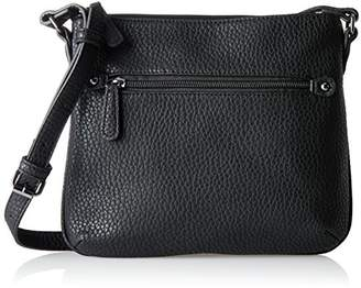 Pcnell Cross Body, Womens Cross-Body Bag, Schwarz (Black), 6x13x19 cm (B x H T) Pieces