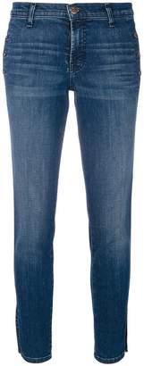 J Brand button detail skinny jeans