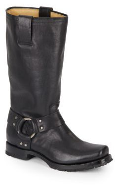 Heath Leather Harness Boots $328 thestylecure.com
