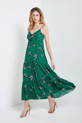 Soprano Tropical Green Dress