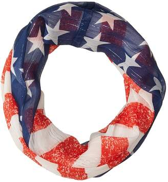 Collection XIIX Stars Stripes Loop Scarves