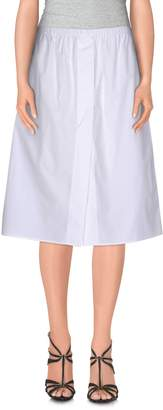 Jil Sander Knee length skirts