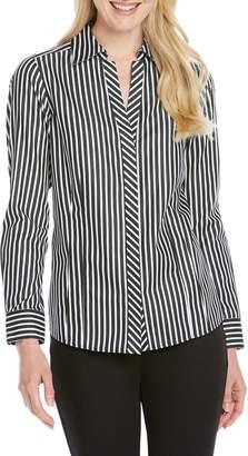 Foxcroft Taylor Stripe Shirt