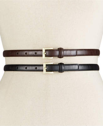 Style & Co Glaze 2-for-1 Belts, Only at Macy's $34.50 thestylecure.com