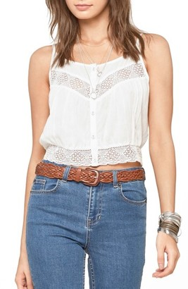Women's Amuse Society Jaylen Woven Camisole $49.50 thestylecure.com