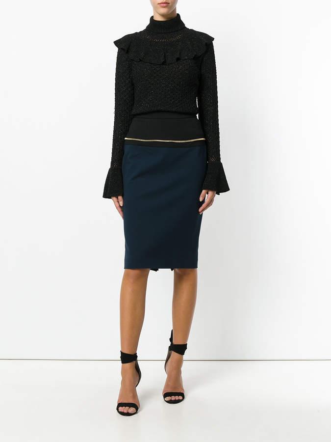 Class Roberto Cavalli straight pencil skirt