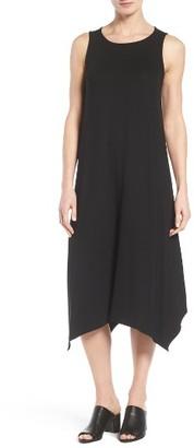 Petite Women's Eileen Fisher Jersey Midi Dress $188 thestylecure.com