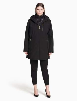 Calvin Klein plus size packable puffer jacket