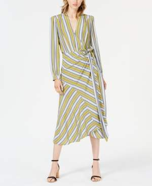 ASTR the Label Teagan Striped Midi Skirt