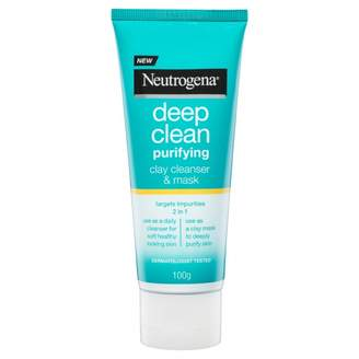 Neutrogena Deep Clean Purifying Clay Cleanser & Mask 100 g