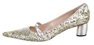Marc Jacobs Sequin Embellished Pumps