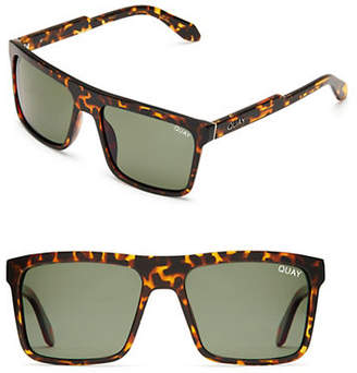 Quay Let It Run Rectangle Sunglasses