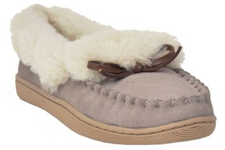 Unbranded Women's Fur Collar Moccassin