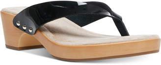 Madden-Girl Saassy Wooden Flip Sandals