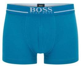BOSS Hugo Cotton Solid Trunk Trunk 24 Logo XXL Turquoise