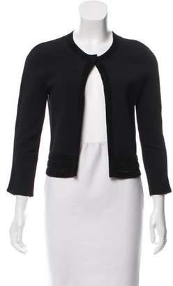 Diane von Furstenberg Cropped Knit Cardigan