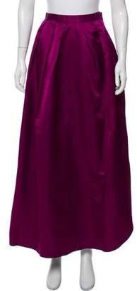 Bill Blass Pleated Maxi Skirt