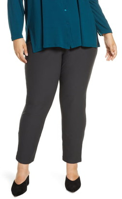 Eileen Fisher Slim Zip Cuff Ankle Pants