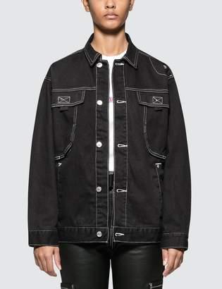 X-girl X Girl Wide Jacket with Big Pockets