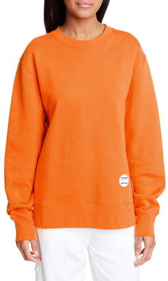Tory Sport Little Grumps Oversize French Terry Sweatshirt