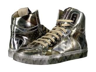 MM6 MAISON MARGIELA Graphic Metallic High Top Women's Boots