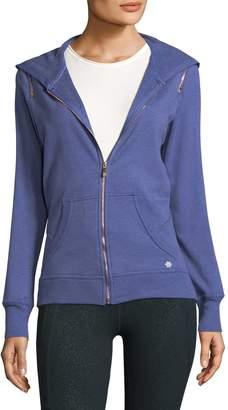 Nanette Lepore Women's Zip-Shoulder Hoodie