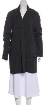 Equipment Long Sleeve Knee-Length Coat