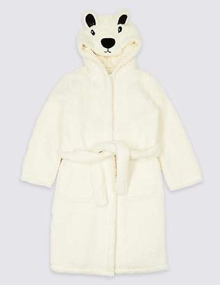 Marks and Spencer Hooded Bear Dressing Gown (1-16 Years)