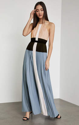 BCBGMAXAZRIA Constantine Color-Blocked Gown