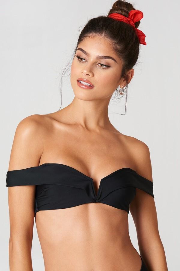 J&K Swim X Folded Bandeau Bikini Top