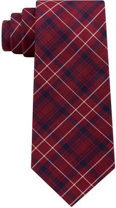 Club Room Men's James Plaid Silk Tie, Created for Macy's
