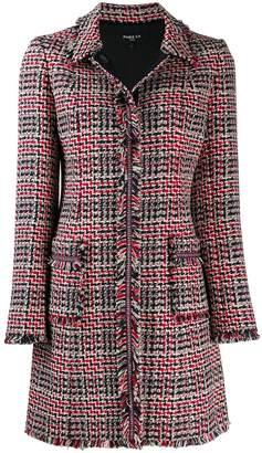 Paule Ka singled breasted tweed coat