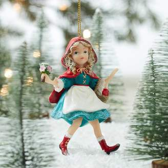 The Christmas Home Little Red Riding Hood Christmas Decoration