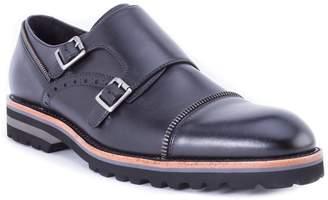 Robert Graham Acadia Double Buckle Monk Shoe