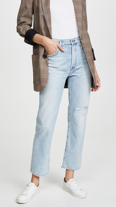 Citizens of Humanity Mckenzie Curved Straight Jeans