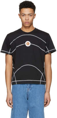 Craig Green Black Flat Lock Jersey T-Shirt